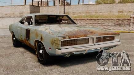 Dodge cargador RT 1969 oxidado v1.1 para GTA 4