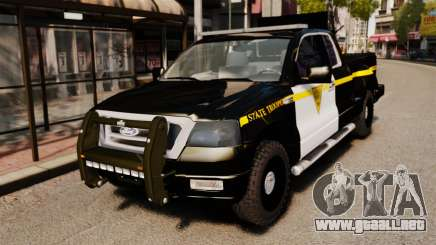 Ford F-150 v3.3 State Trooper [ELS & EPM] v3 para GTA 4