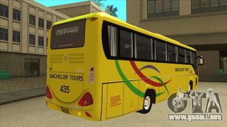 Kinglong XMQ6126Y - Bachelor Tours 435 para la visión correcta GTA San Andreas