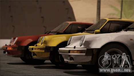 Porsche 911 Turbo 3.3 Coupe 1982 para el motor de GTA San Andreas