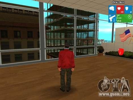 Darius from NFS: Carbon para GTA San Andreas segunda pantalla