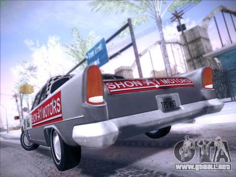 HD Bloodring Banger para GTA San Andreas vista posterior izquierda