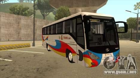Kinglong XMQ6126Y - GL Trans 559 para GTA San Andreas left