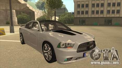 Dodge Charger RT Daytona 2011 V1.0 para GTA San Andreas left
