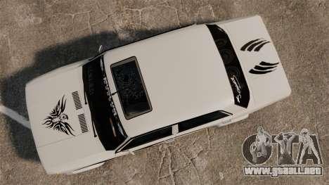 Fiat 124 Tuning para GTA 4 visión correcta
