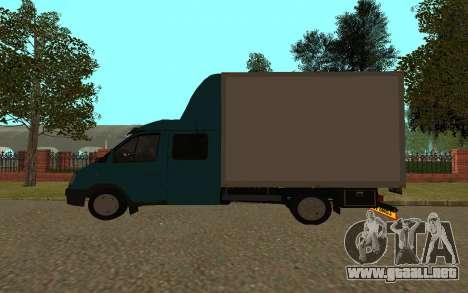 Gacela 33023 para GTA San Andreas vista posterior izquierda