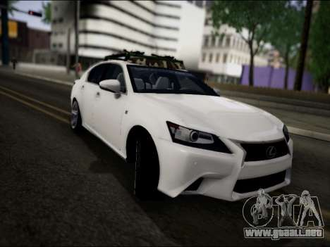 Lexus GS 350 para la visión correcta GTA San Andreas