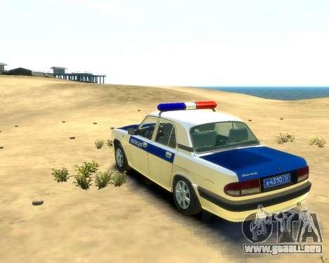 GAZ 31105 DPS para GTA 4 left