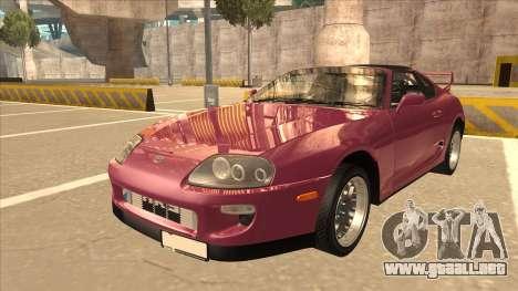 Toyota Supra MKIV para GTA San Andreas