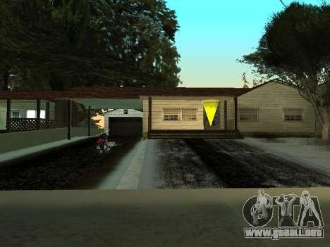 Invierno v1 para GTA San Andreas quinta pantalla