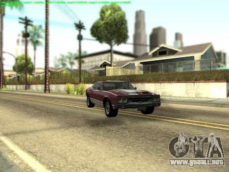 ENBSeries by Krivaseef v2.0 para GTA San Andreas segunda pantalla