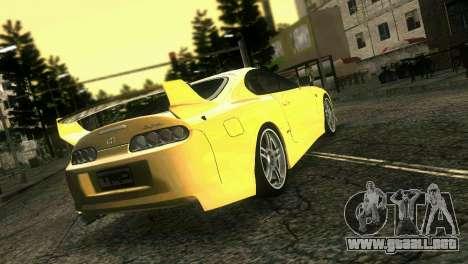 Toyota Supra TRD para GTA Vice City left