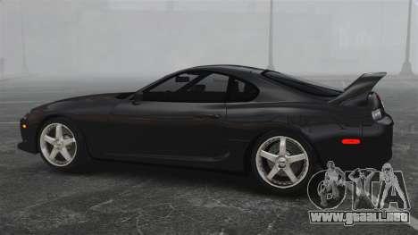 Toyota Supra para GTA 4 left