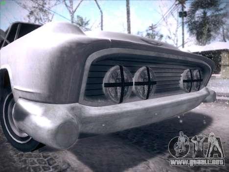 HD Bloodring Banger para GTA San Andreas interior