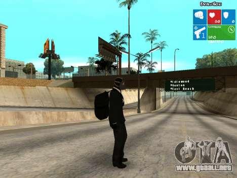El ladrón de bancos para GTA San Andreas segunda pantalla