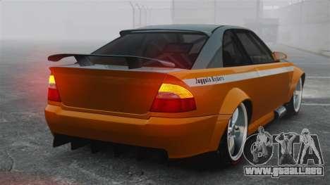 Sultan RS v2.5 para GTA 4 Vista posterior izquierda