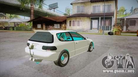 Honda Civic (EG6) Drag Style para la visión correcta GTA San Andreas