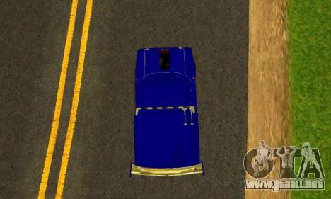 IZH 2715 Novosib Tuning para visión interna GTA San Andreas