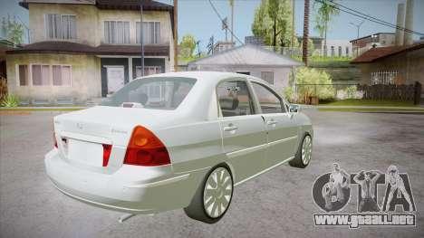 Suzuki Liana 1.3 GLX 2002 para la visión correcta GTA San Andreas