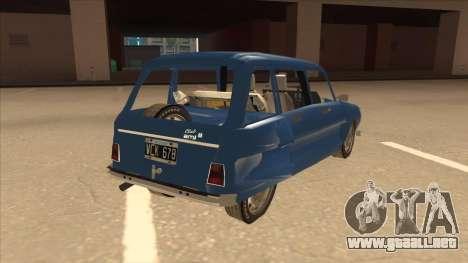 Citroën Ami 8 para la visión correcta GTA San Andreas