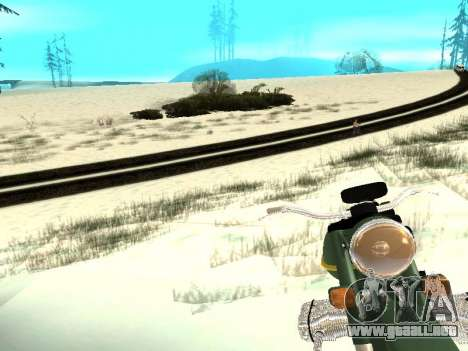 Invierno v1 para GTA San Andreas décimo de pantalla