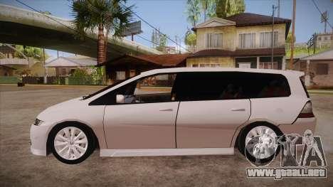 Honda Odyssey v1.5 para GTA San Andreas left