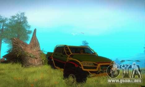 UAZ Patriot camioneta para visión interna GTA San Andreas