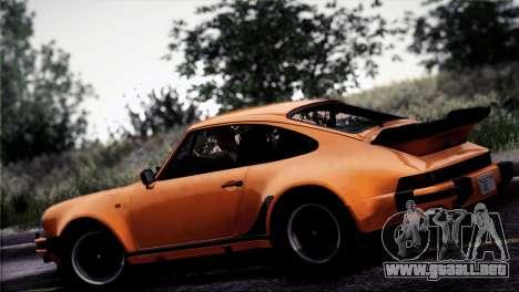 Porsche 911 Turbo 3.3 Coupe 1982 para vista inferior GTA San Andreas