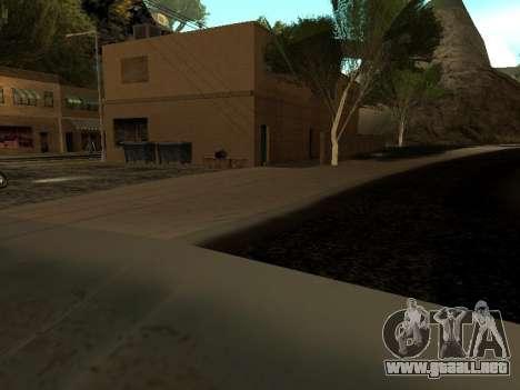 Invierno v1 para GTA San Andreas octavo de pantalla