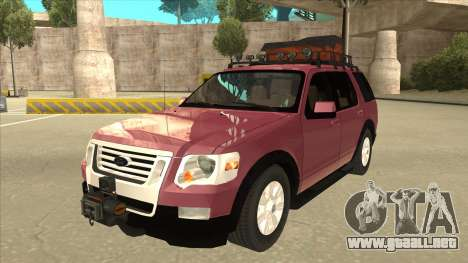 Ford Explorer 2011 para GTA San Andreas