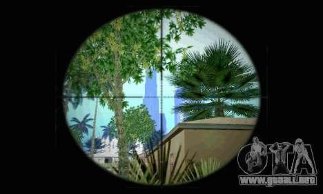 Barrett M82 de batalla 4 para GTA San Andreas segunda pantalla