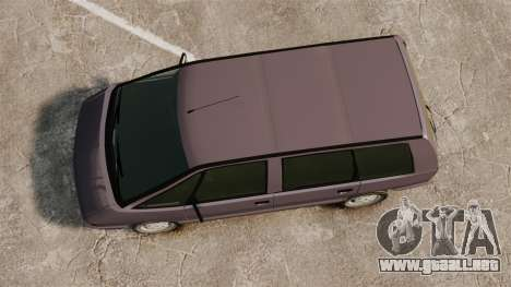 Renault Espace I 2000 TSE para GTA 4 visión correcta