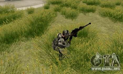 Barrett M82 de batalla 4 para GTA San Andreas sucesivamente de pantalla
