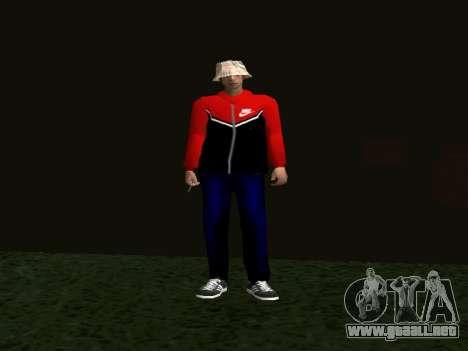 La piel por Maccer para GTA San Andreas