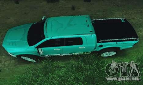 Dodge Ram 2500 HD para GTA San Andreas left