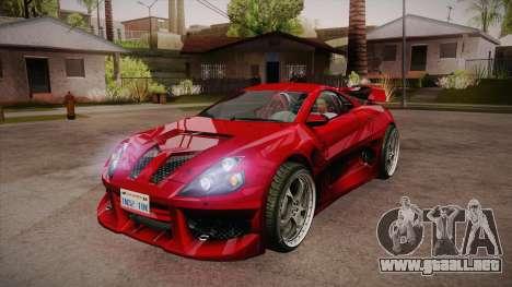 CYBORX CD 10.1s XL-SE Custom para GTA San Andreas