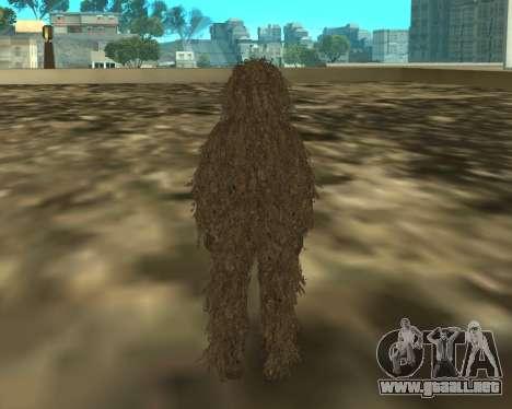 MacMillan para GTA San Andreas segunda pantalla