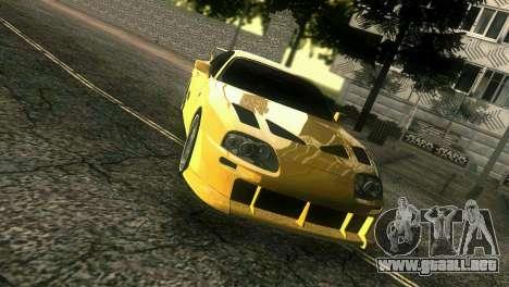Toyota Supra TRD para GTA Vice City visión correcta