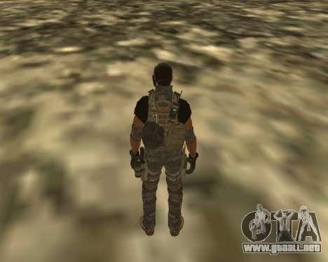 Griggs para GTA San Andreas segunda pantalla