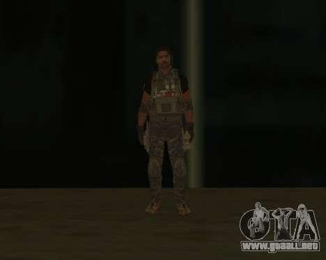 Griggs para GTA San Andreas tercera pantalla