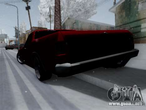 Picador V8 Picadas para la visión correcta GTA San Andreas