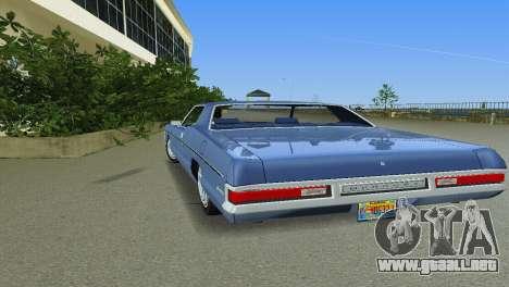 Mercury Monterey 1972 para GTA Vice City vista interior