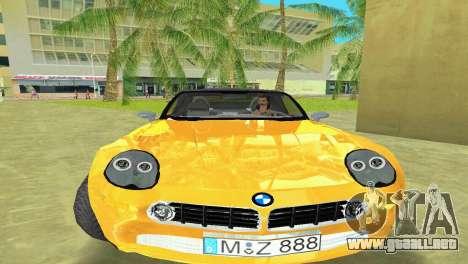 BMW Z8 para GTA Vice City vista lateral izquierdo