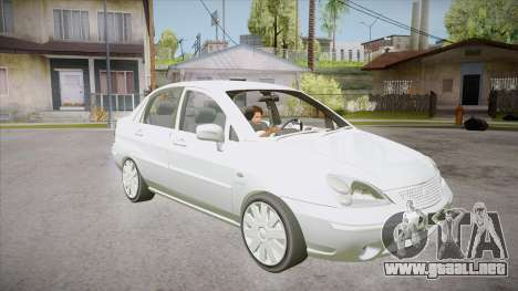 Suzuki Liana 1.3 GLX 2002 para GTA San Andreas vista hacia atrás