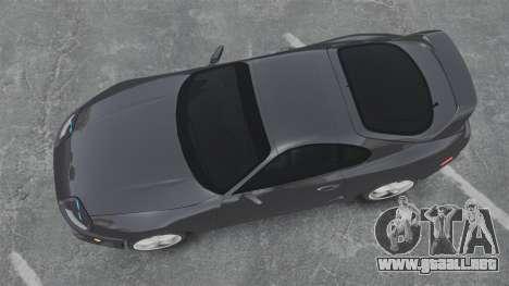 Toyota Supra para GTA 4 visión correcta
