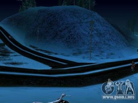 Invierno v1 para GTA San Andreas tercera pantalla