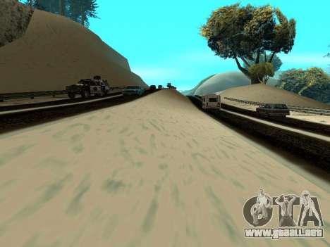 Invierno v1 para GTA San Andreas