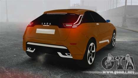 Lada XRay Concept para GTA 4 Vista posterior izquierda
