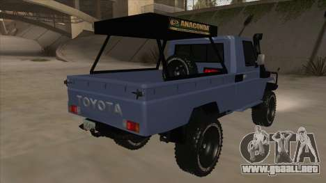 Toyota Machito Pick Up 2009 para la visión correcta GTA San Andreas