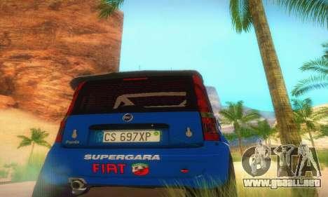 Fiat Panda Rally para visión interna GTA San Andreas
